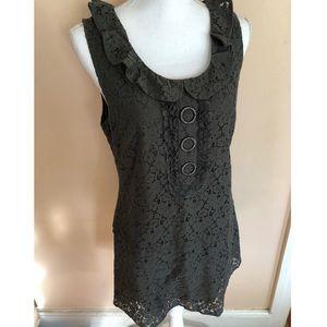 Sanctuary Lace Button Dress